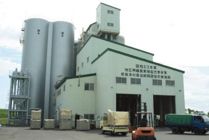 穀類調整貯蔵施設